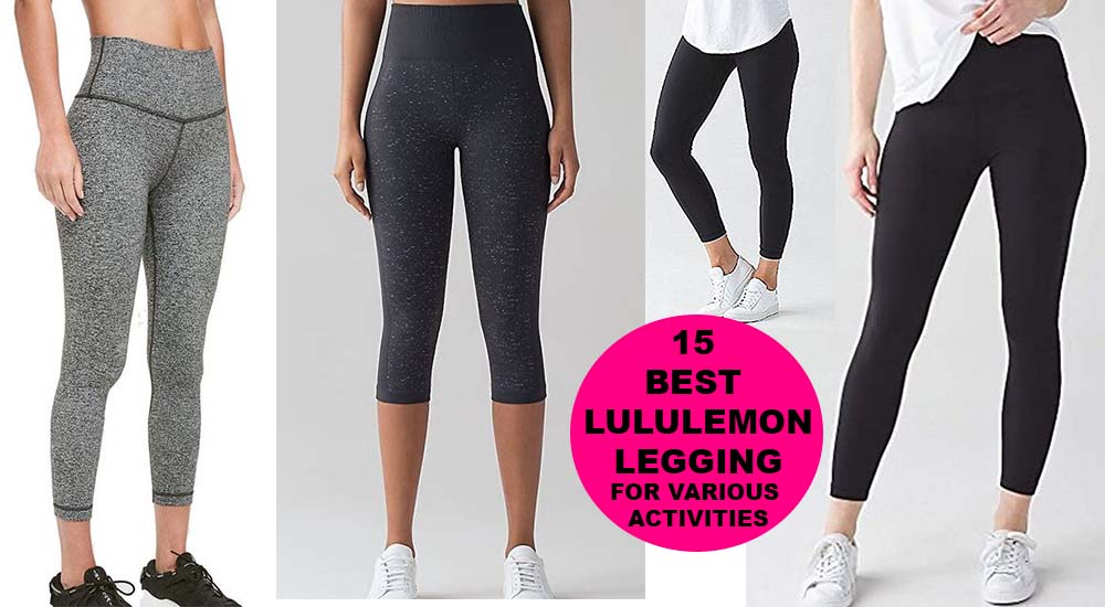 15 best lululemon leggings for weightlifting