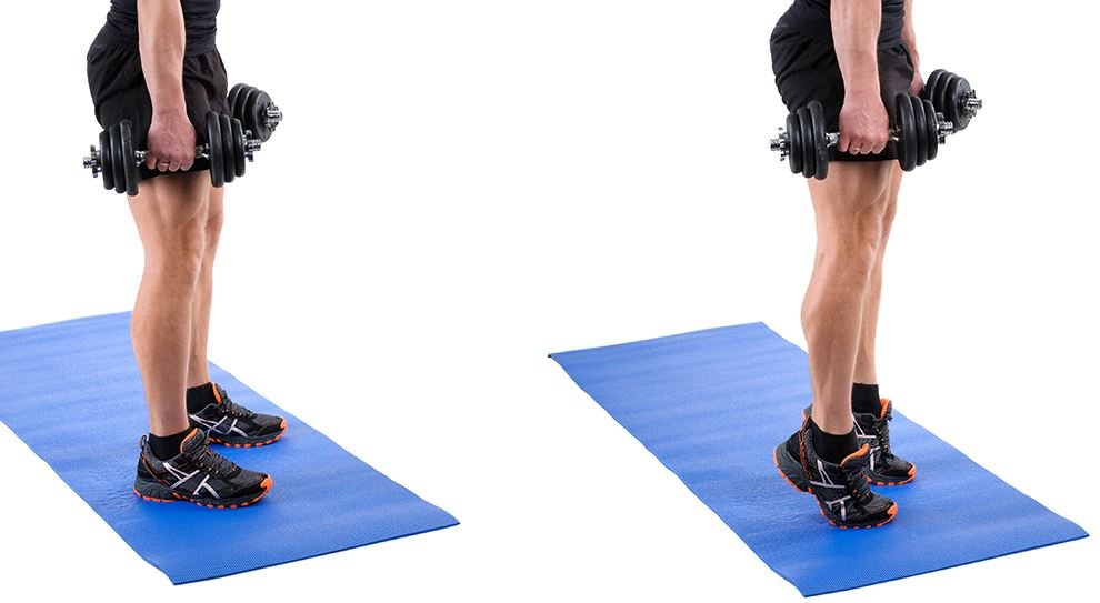how to lose fat in calves and ankles