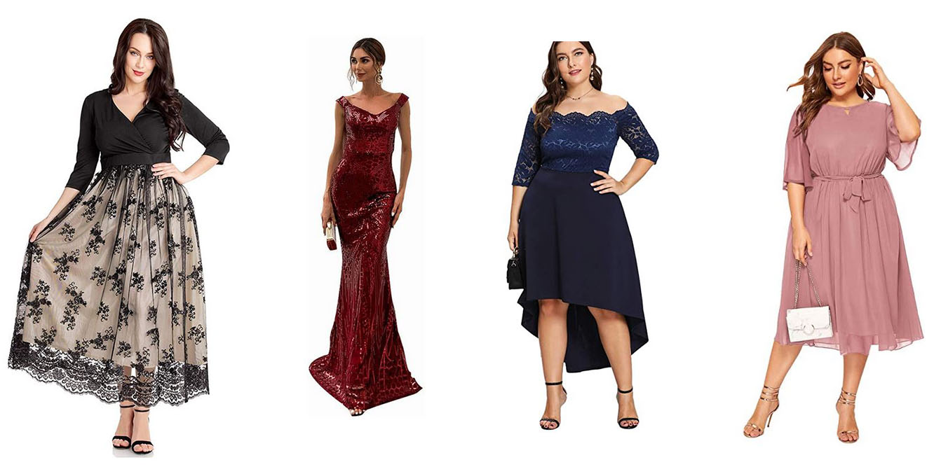 5 Beautiful Plus Size Dresses for Special Occasions Under $5