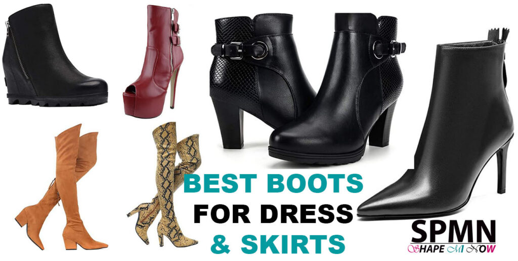 how to wear ankle boots with dresses pictures